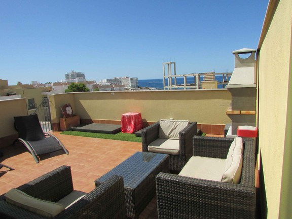 Condominium in San José - Rooftop with lovely sea view
