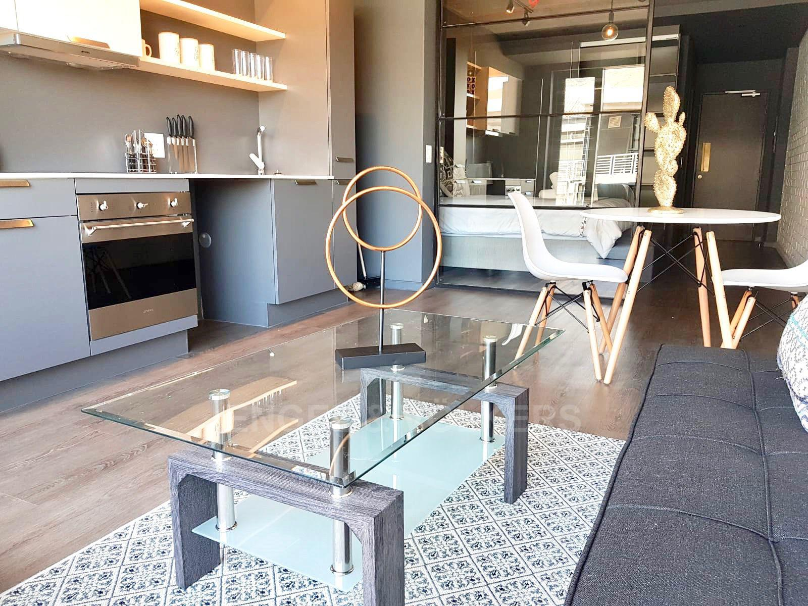 Apartment in Woodstock - Living/kitchen