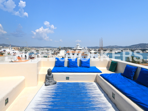 Renovated house with terrace in historic building in La Marina