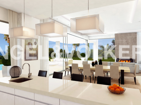 House in Golden Mile - Kitchen-Dining Area