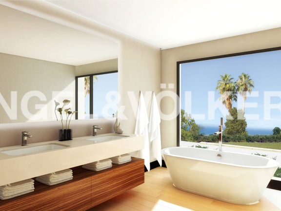 House in Golden Mile - Sea View from Bathroom