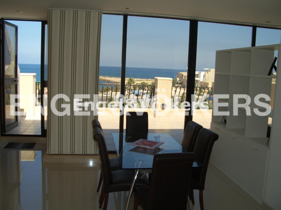 Penthouse, Bahar Ic-Caghaq, Kitchen/ Living/ Dining