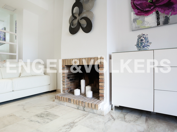 House in Cullera - Fireplace