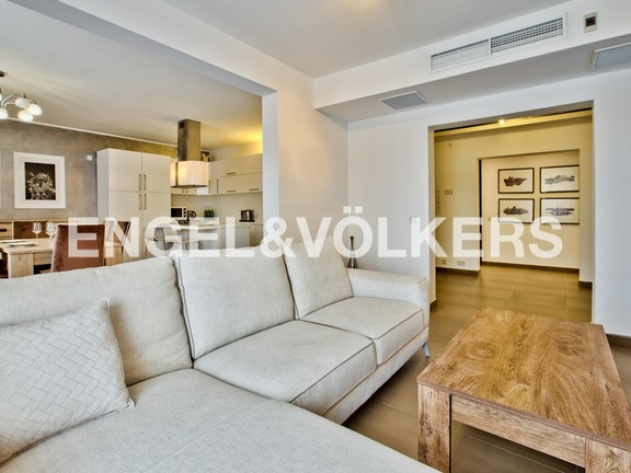Apartment, Madliena, Kitchen/Dining/Living