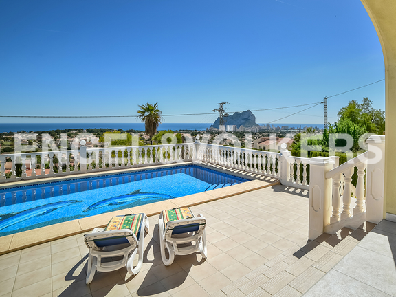 House in Calpe - View from pool