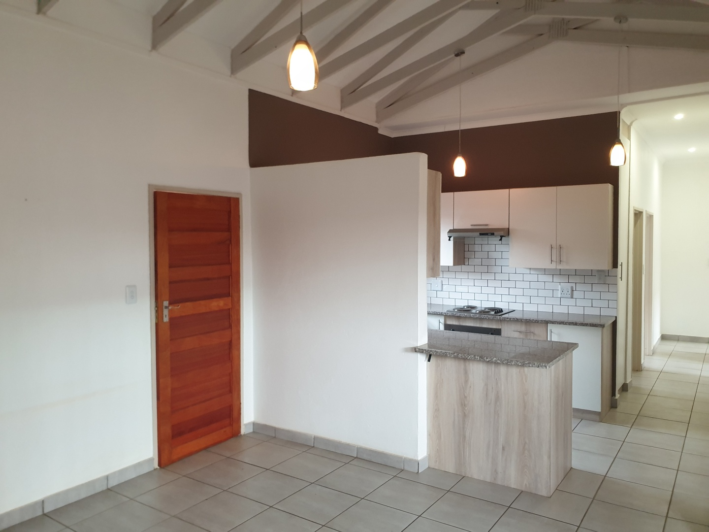 House in Bailliepark - kitchen/lounge