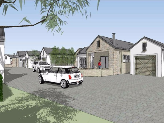 Apartment in De Land - Driveway garden and cars.jpg