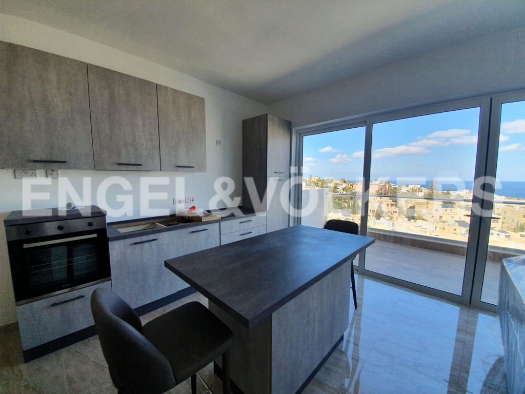 Apartment in Ibrag - Penthouse, Swieqi, Kitchen / Dining