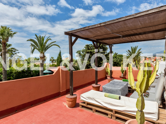 House in Marbella City - Roof Terrace