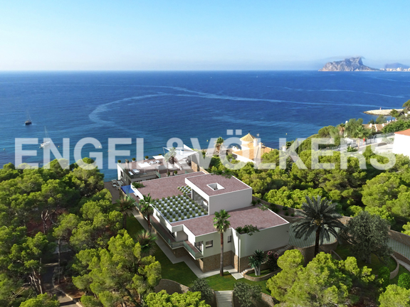 First Line Luxury Villa in El Portet de Moraira, Villa