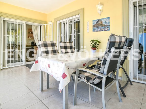 House in Calpe - Covered terrace