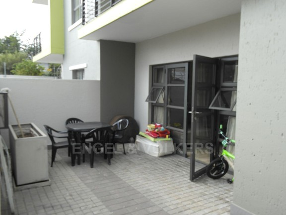 Apartment in Edenburg - Patio
