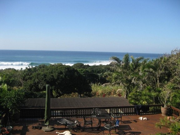 House in Umtentweni - 011 View From The Main Bedroom