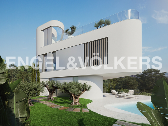 House in Finestrat - Exclusive newly built villa with luxury qualities. Garden