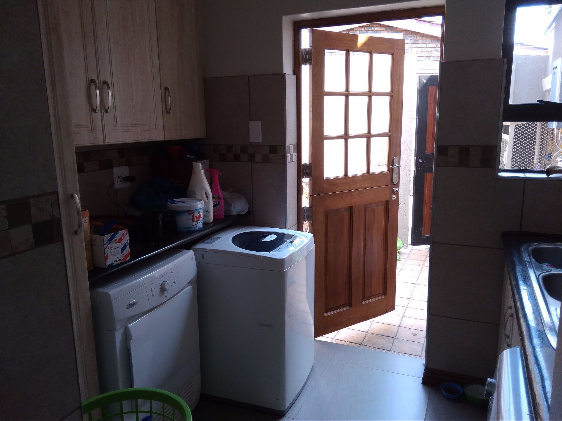 House in Schoemansville - scullery