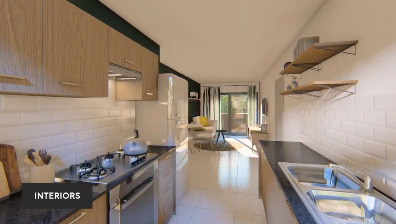 Apartment in West Acres - Kitchen.png