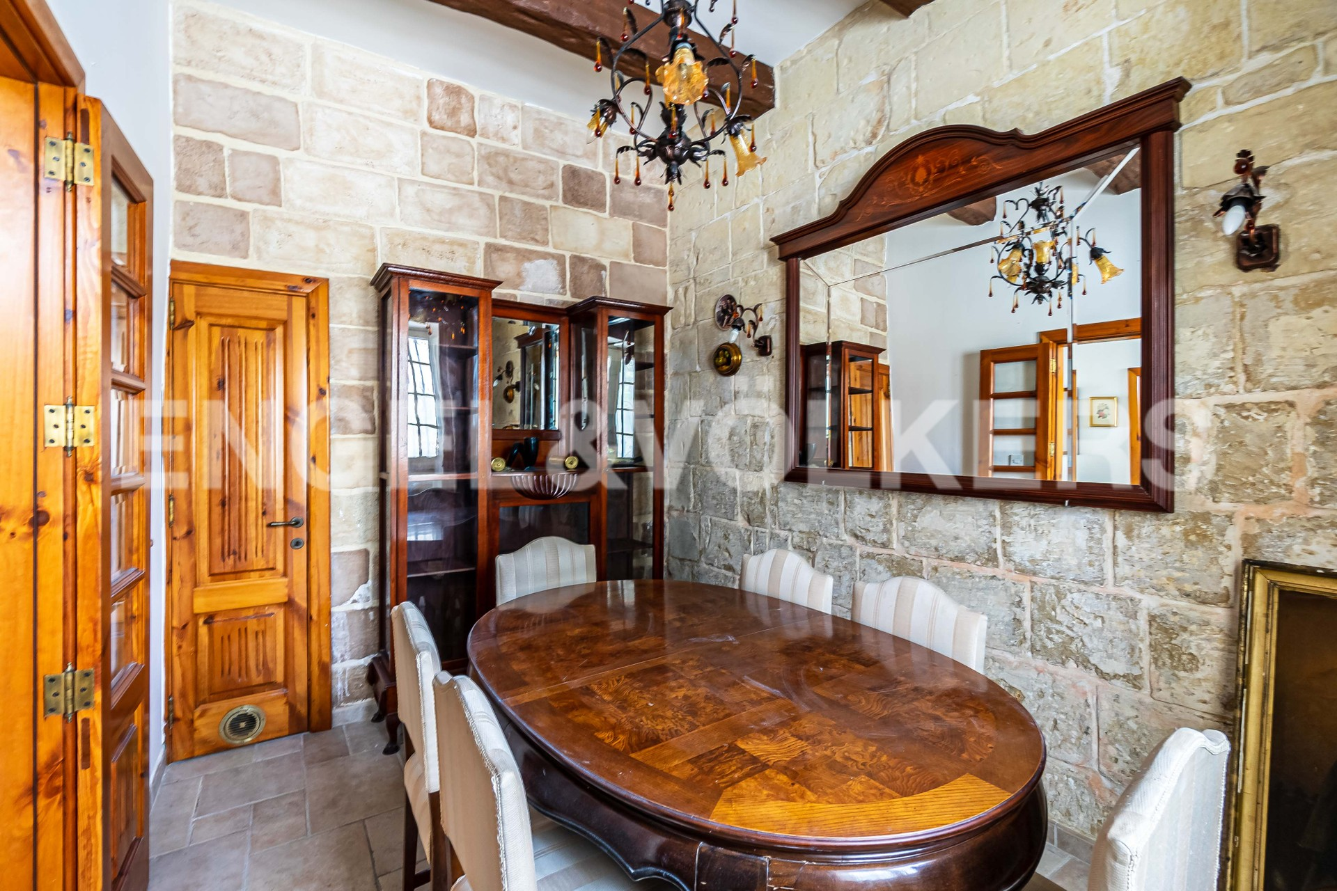 House in Attard - Dining Area