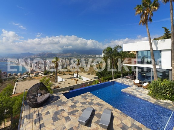 House in Benidorm Rincón de Loix - Ultra luxury villa with breathtaking views. Pool & views