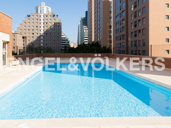Condominium in Ciudad de la Justicia - Communal pool