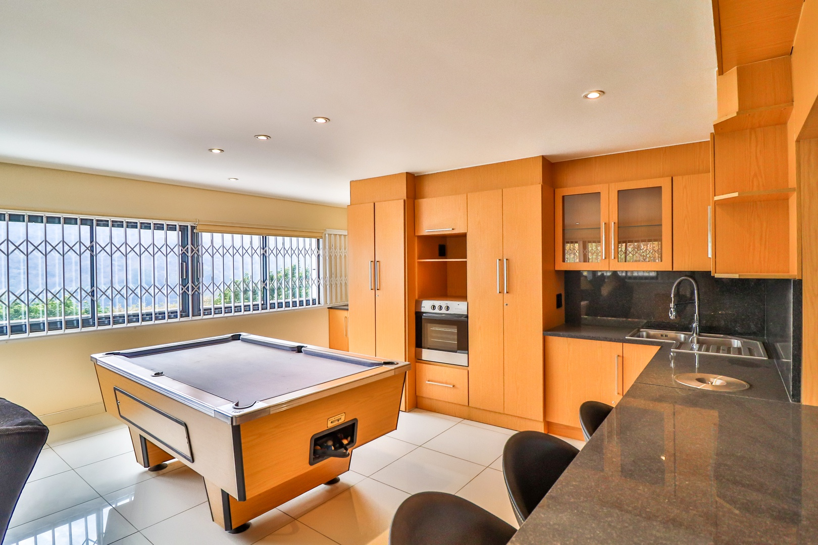 House in Kosmos Village - Activity room has its own kitchenette