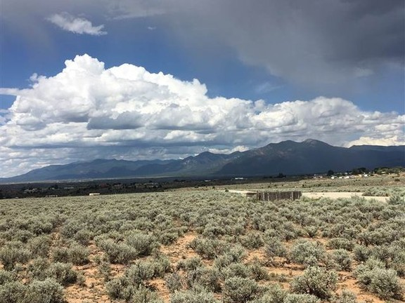 Land in Taos Town - Taos Mountain Vista Improved Building Lot with Scenic Views near Taos Country Club