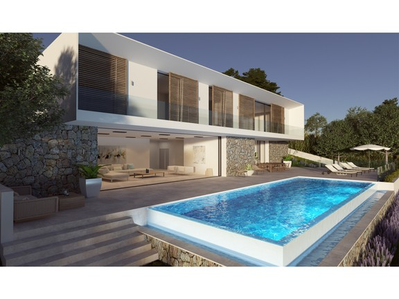 State of the Art residence with sublime views