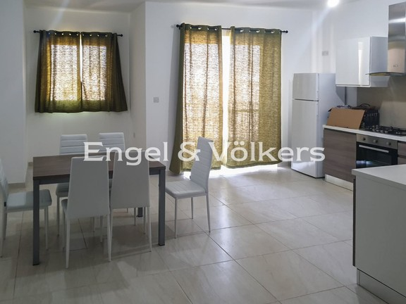 Central, Qormi, Apartment, Kitchen/Dining/Living