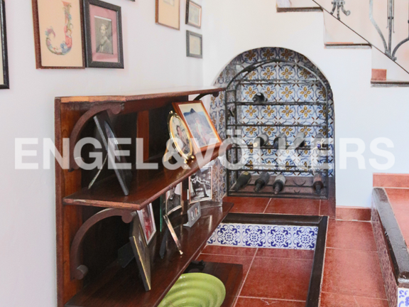 House in La Sella Golf - Traditional stair case.