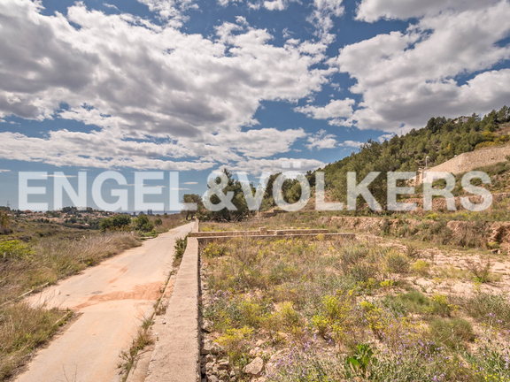 Building Plot with Panoramic Views in La Empedrola - Calpe