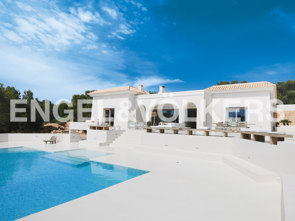 House in Cala Tarida - House view