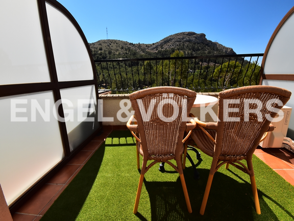 House in Finestrat - Charming villa, in natural environment in Finestrat. Terrace
