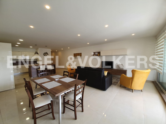 Apartment, Paceville, Kitchen / Living / Dining Area