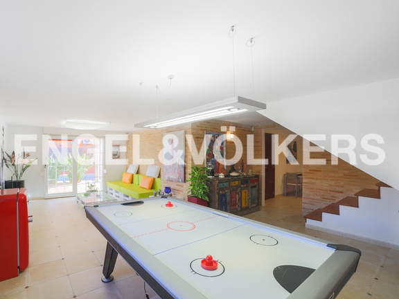 House in Godella - Leisure area on the basement