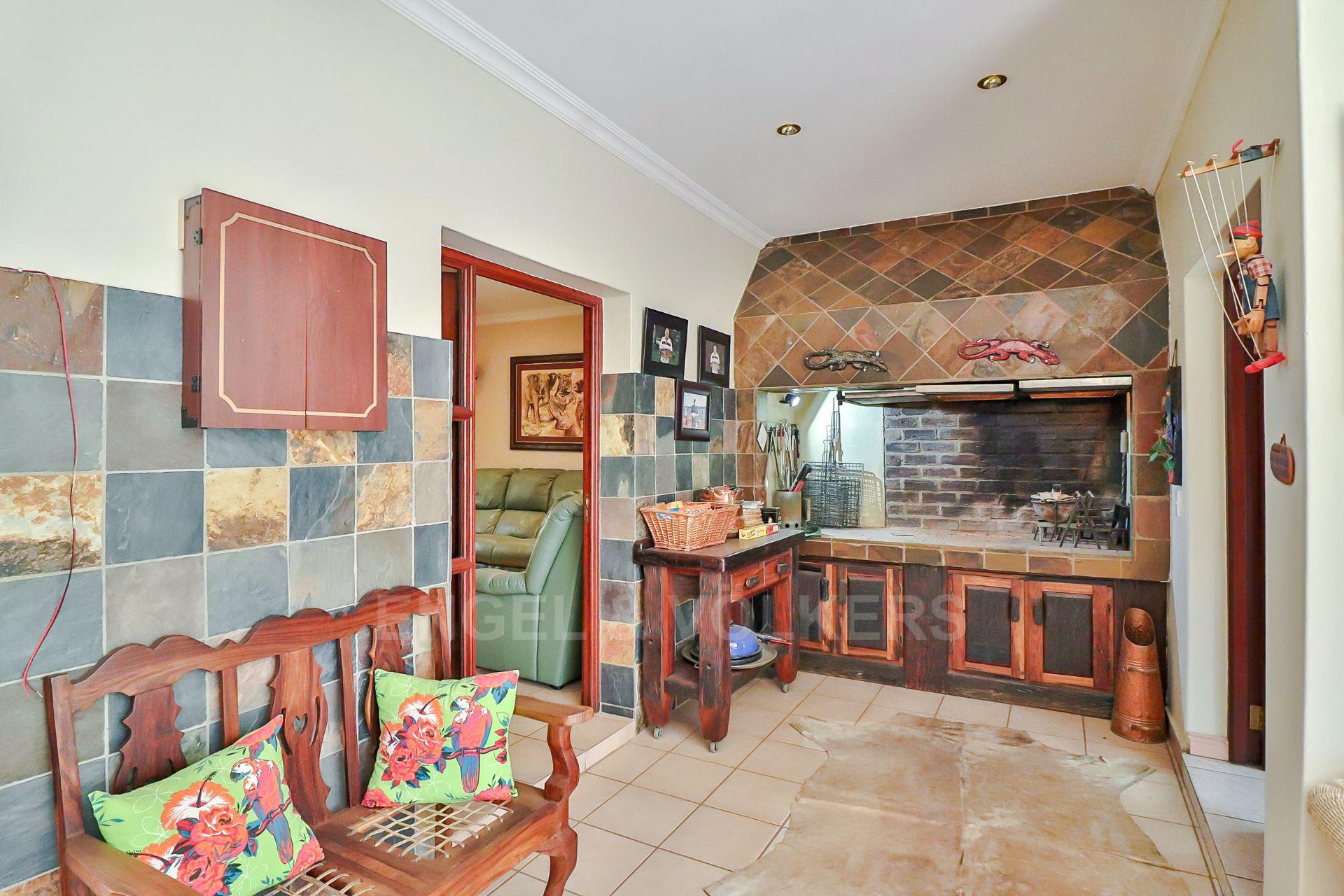 House in Ifafi - Braai entertainment area