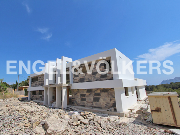 Luxury Villa in Benissa, Bulding