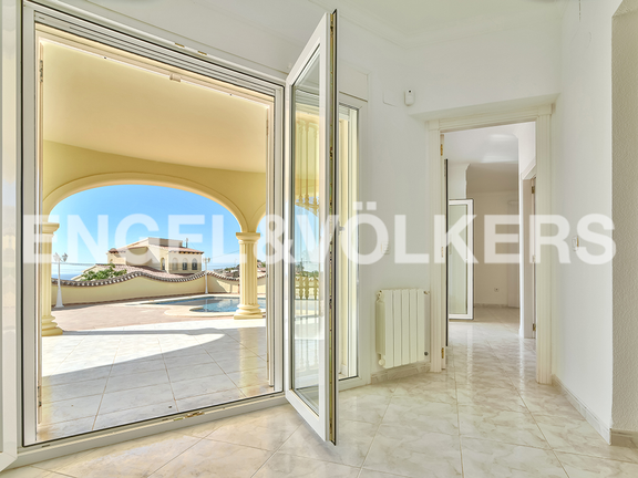 House in Calpe - View to the terrace