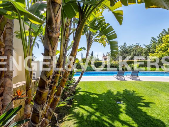 Condominium in Cascada de Camojan - Garden and Swimming Pool