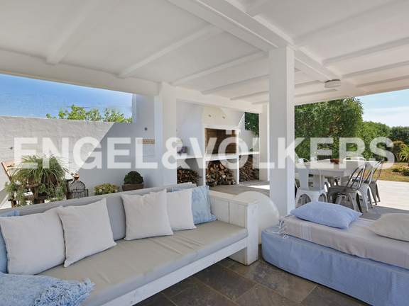House in Sa Caleta - Chill out and barbecue area