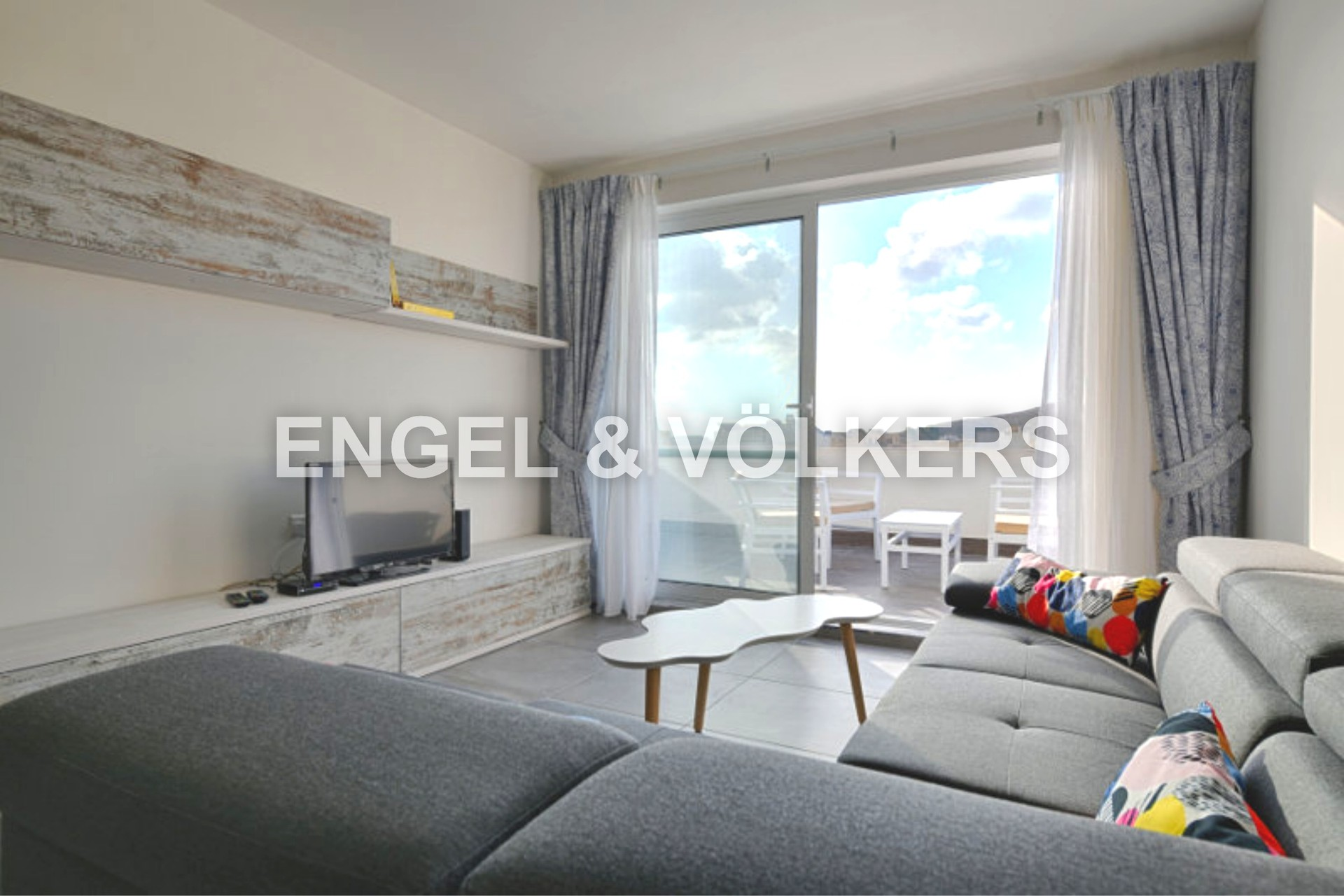 Apartment in Gharb - Penthouse, Gharb, Living Area