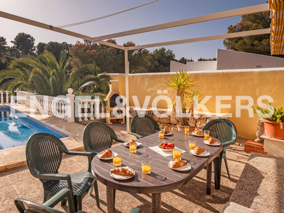 House in Benissa - Holiday Home with Rental Potential in Buenavista - Benissa Costa, Terrace