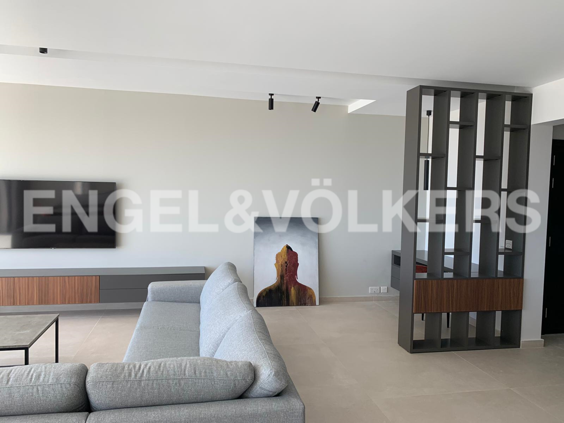 Apartment in Gharghur - Living Area