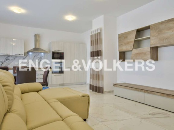 Penthouse, Bahar Ic Caghaq, Kitchen/Dining/Living