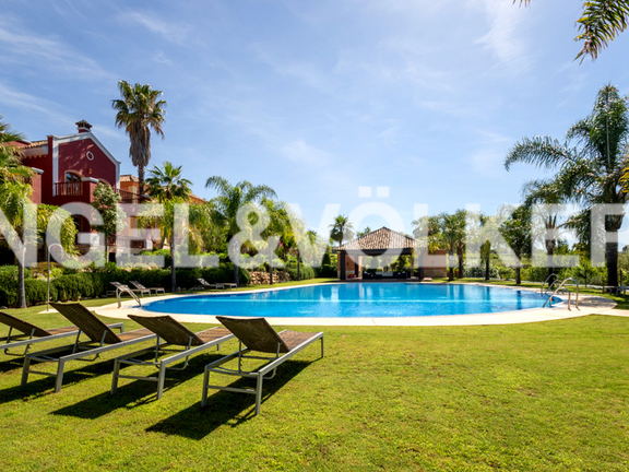 House in Marbella hill club - Garden and Swimming Pool