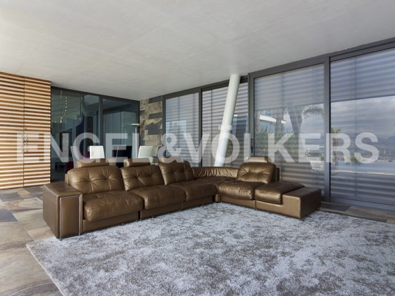 House in Benidorm Rincón de Loix - Ultra luxury villa with breathtaking views. Terrace living room