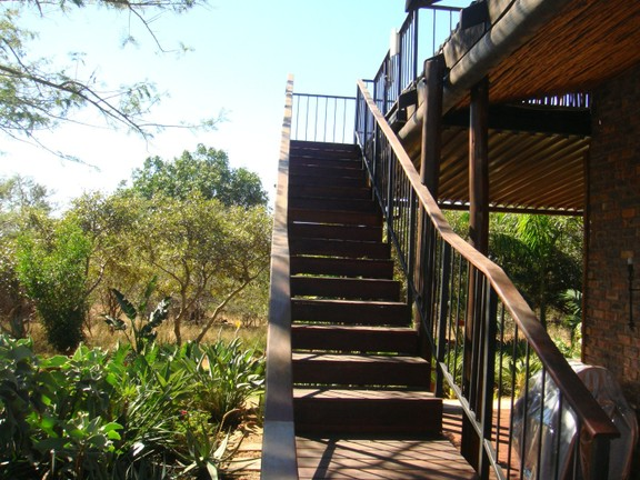 House in Kampersrus & surrounds - Stairs to viewing deck