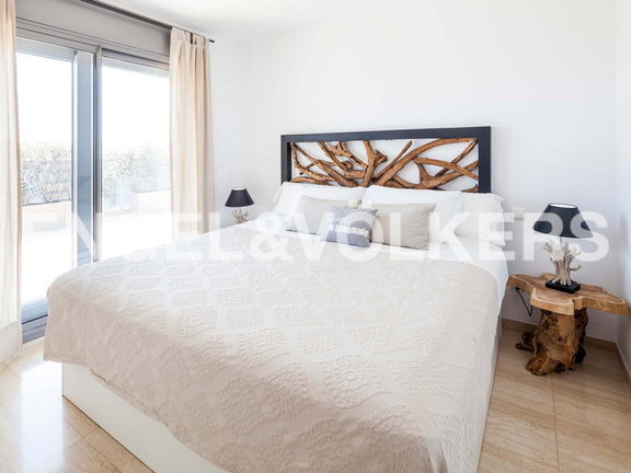 Condominium in Ibiza - Bedroom