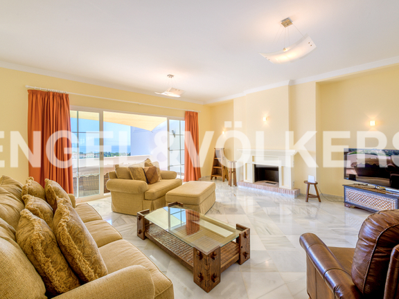 House in Marbella hill club - Living Room