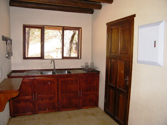 House in Blyde Wildlife Estate - scullery
