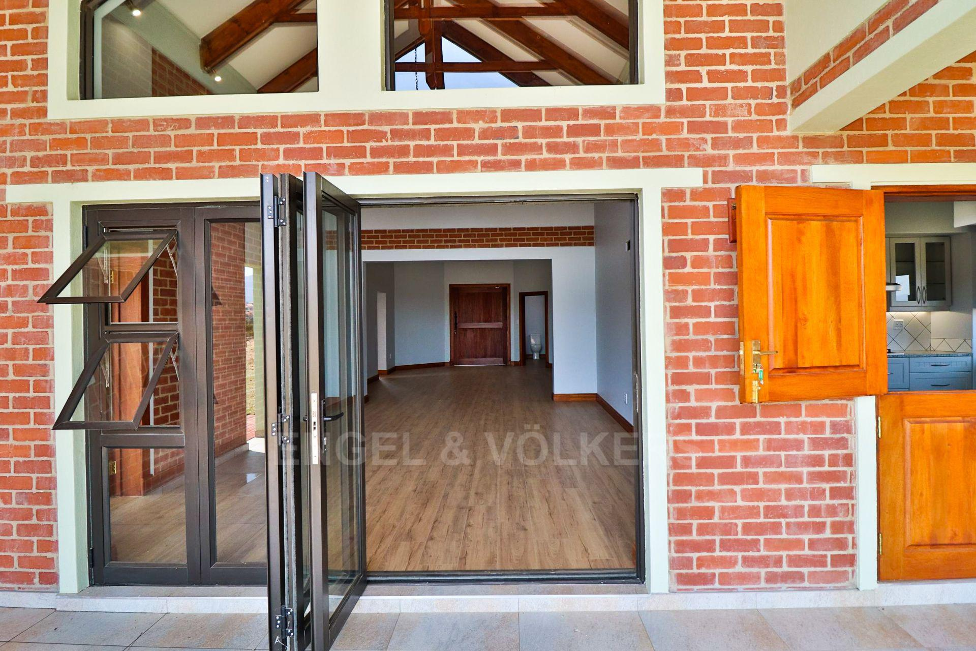 House in Landsmeer - View to inside house