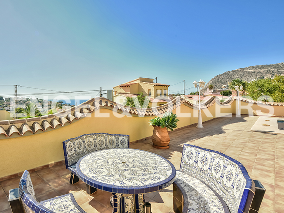 House in Calpe - Terrace